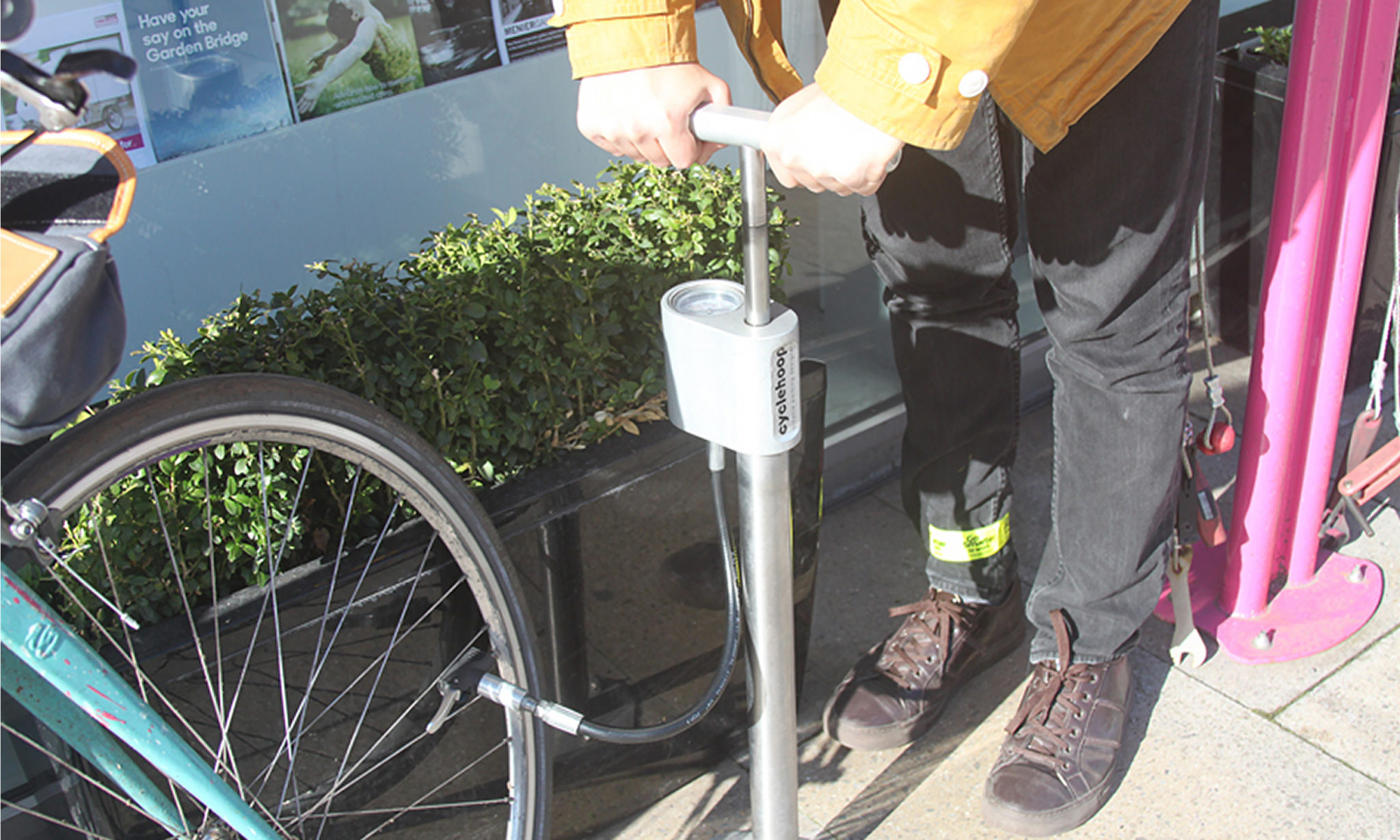 Cyclehoop Compact Bike Pump 02