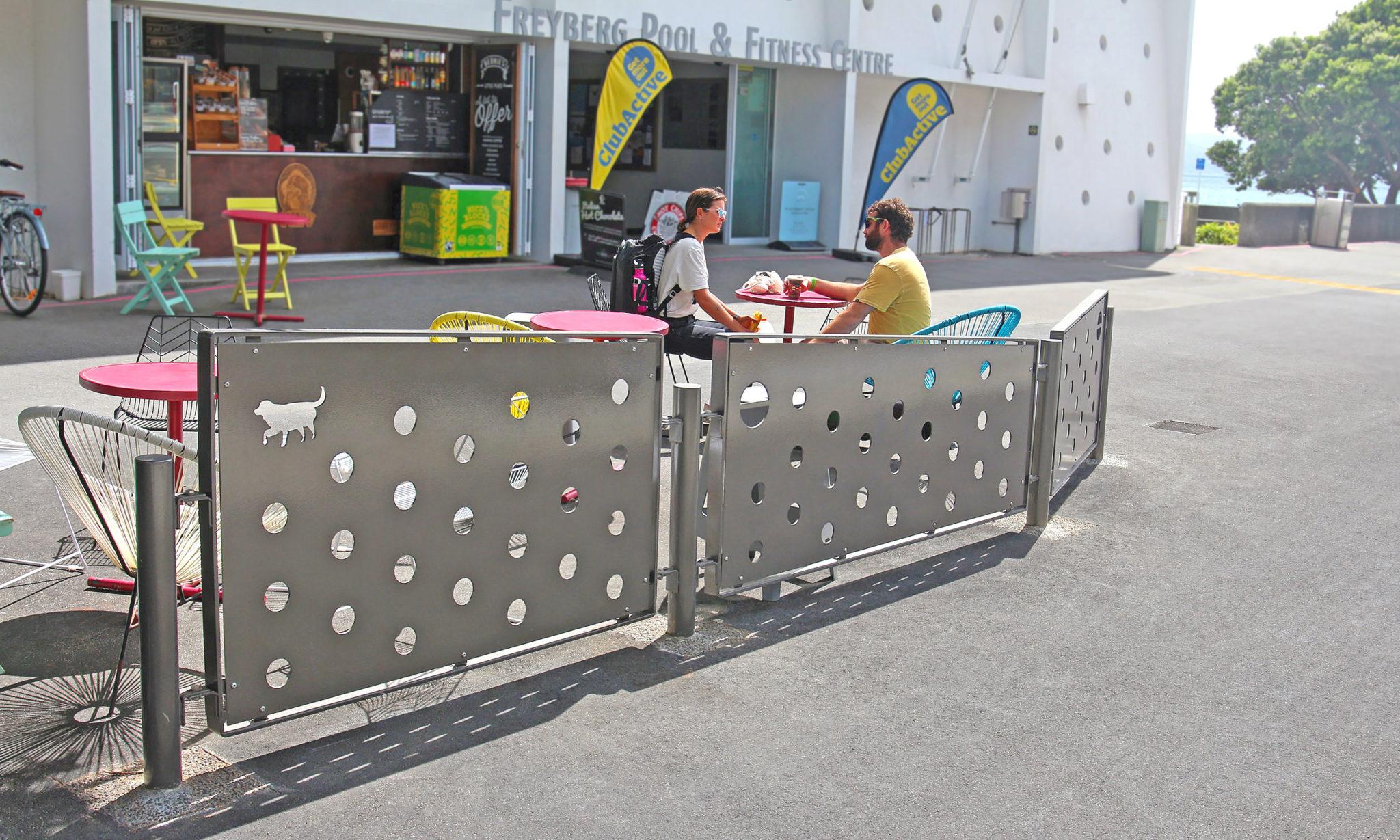Freyberg Pool Panel Barrier 01