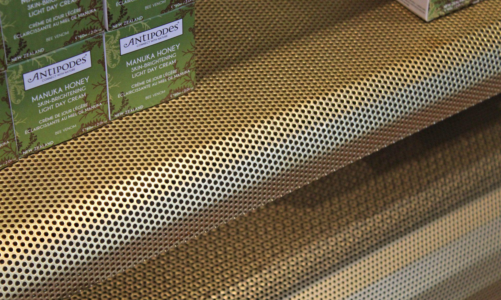 Antipodes Perforated Display 03