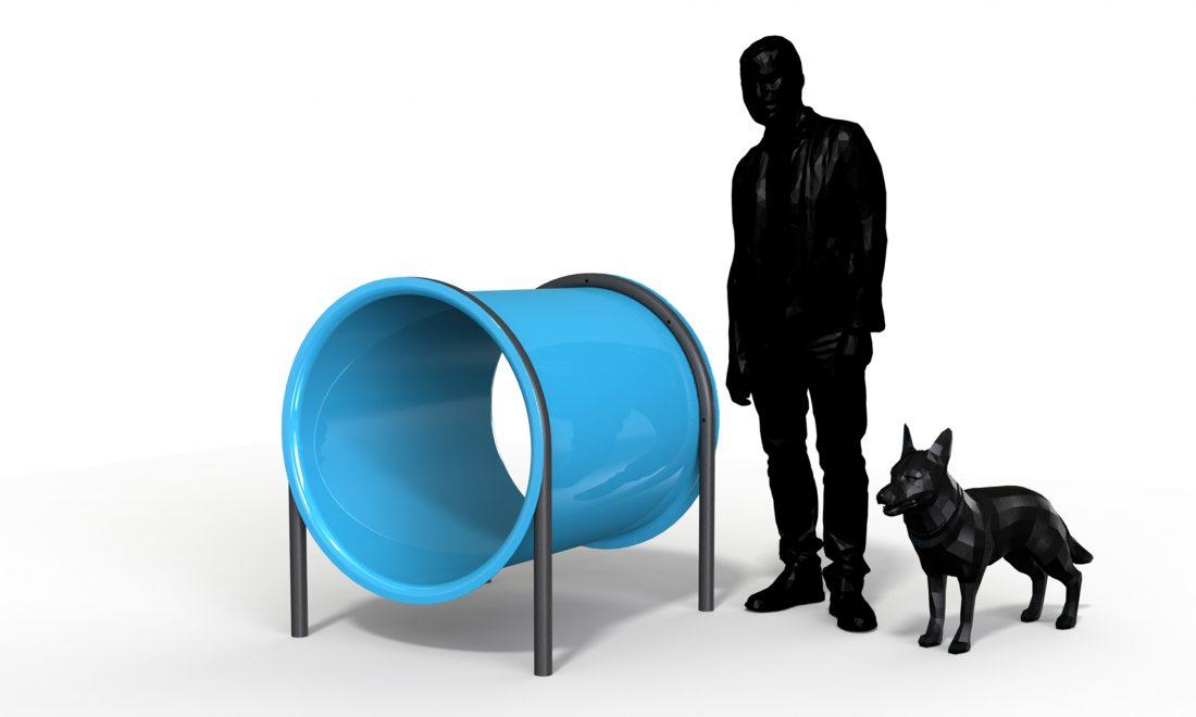Canine Dog Tunnel 01